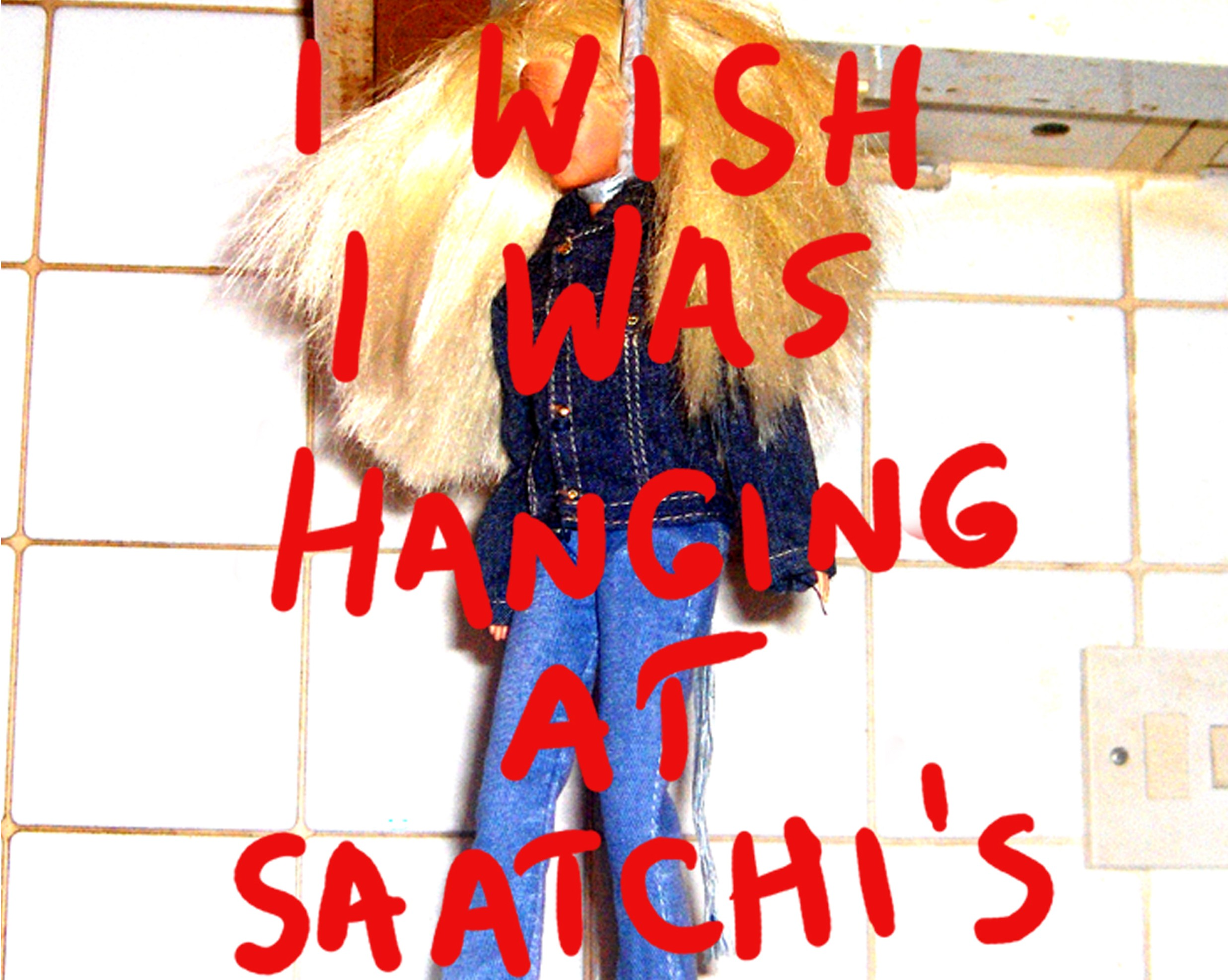 I wish I was hanging at Saatchi's