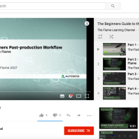 Autodesk Flame Unleashed Tutorials